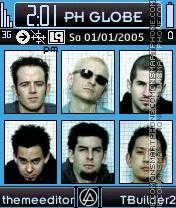 Linkin Park Theme es el tema de pantalla