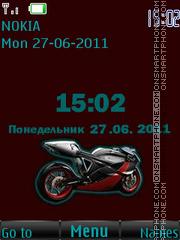 Super Moto Bike By ROMB39 es el tema de pantalla
