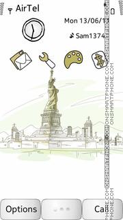 Statue Of Liberty theme screenshot