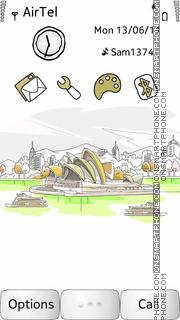 Sydney Opera House es el tema de pantalla