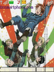 Hetalia! theme screenshot