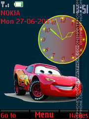Cartoon car By ROMB39 theme screenshot