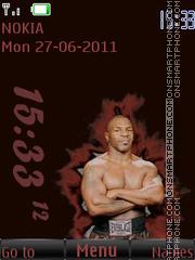 Mike Tyson By ROMB39 theme screenshot