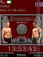 Emelianenko Brothers By ROMB39 es el tema de pantalla