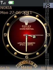 Rolex With Tone es el tema de pantalla
