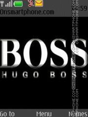 Hugo boss es el tema de pantalla