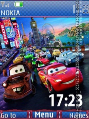 Cars2 es el tema de pantalla