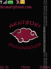 Akatsuki organization theme screenshot