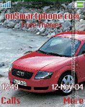 My Audi es el tema de pantalla