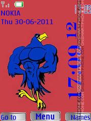 Cartoon Eagle By ROMB39 theme screenshot