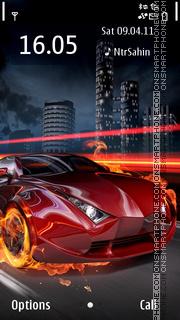 Fire Car 07 es el tema de pantalla