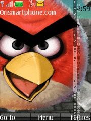Angrybirds theme screenshot