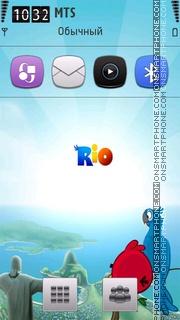 Angry Birds 02 theme screenshot
