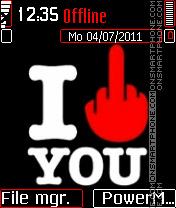 I f u es el tema de pantalla