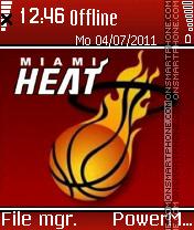 Miami heat es el tema de pantalla