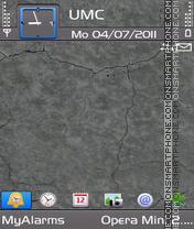 Grey Wall by Bolena (Ovi) es el tema de pantalla
