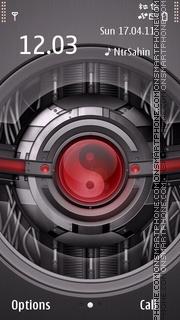 Yin And Yang Techno 01 es el tema de pantalla