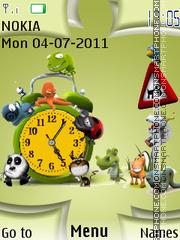 Funny Muzzles theme screenshot