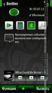 Carbon S^3 es el tema de pantalla
