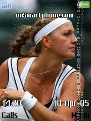 Petra Kvitova 1 es el tema de pantalla