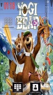 Yogi Bear 01 es el tema de pantalla