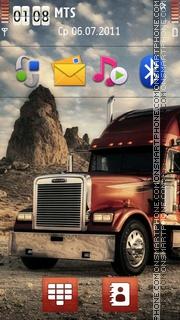 Truck 02 theme screenshot