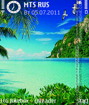 Summer theme screenshot