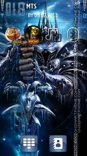 World Of Warcraft 11 theme screenshot