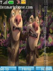 Ice Age 3 theme screenshot