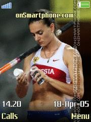 Yelena Isinbayeva 3 es el tema de pantalla