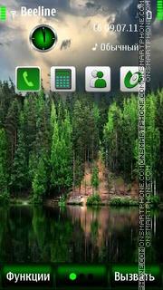 Nature S^3 es el tema de pantalla