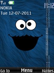 Monster Cookie tema screenshot