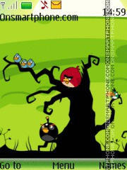 Angry Birds Icon theme screenshot