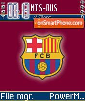 FC Barcelona theme screenshot