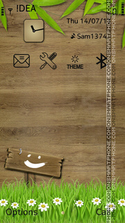 Wood es el tema de pantalla