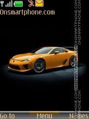 Lexus Lfa 01 theme screenshot