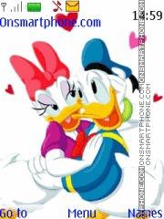 Donald and Daisy Ducks theme screenshot