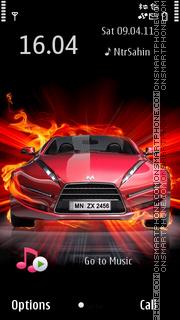 Fire Car2 es el tema de pantalla