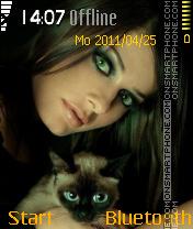 Catgirl es el tema de pantalla