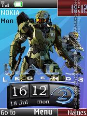 Halo Ultimate 3d theme screenshot