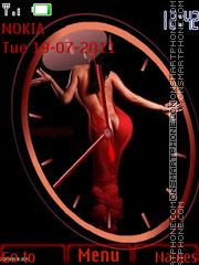 Lady in red2 es el tema de pantalla