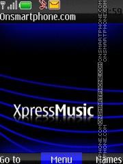 Xpress Muzik 02 theme screenshot