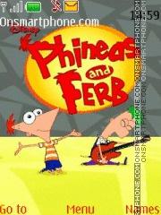 Phineas and Ferb! es el tema de pantalla