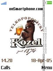 Kozel es el tema de pantalla