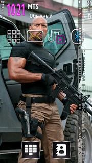 Dwayne Johnson 01 theme screenshot
