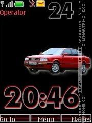 Audi80 swf theme screenshot