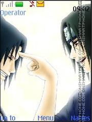 Sasuke Itachi theme screenshot