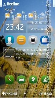 New Nokia S^3 es el tema de pantalla