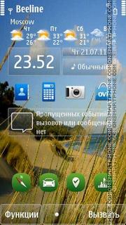 New Nokia S^3 (Def) es el tema de pantalla
