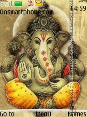 Lord Ganesh 06 theme screenshot